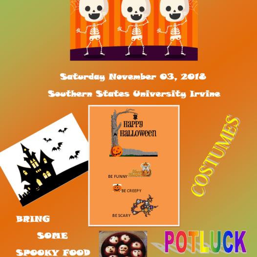 Irvine Campus – Halloween BBQ