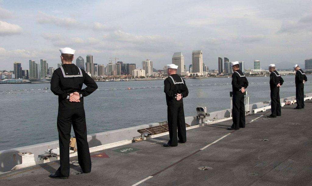 VA Active Duty Sailors Image