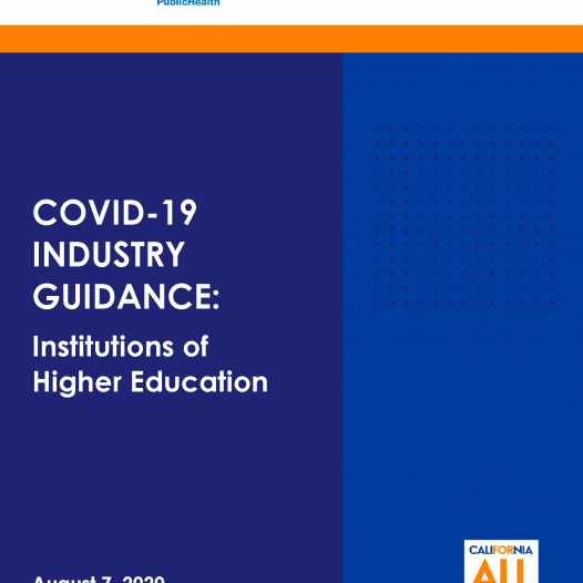 COVID-19 INDUSTRY GUIDANCE: Institutions of Higher Education