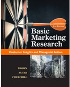 MKT 405: Introduction to Marketing Research
