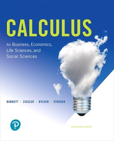 MTH 135: Business Calculus