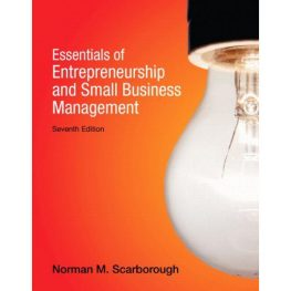 essentials of entrepreneurship and small business management Book Image