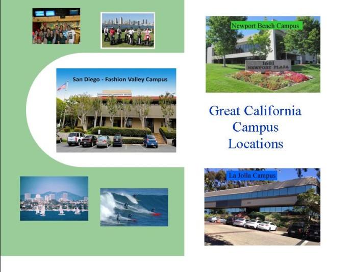SSU campuses California locations