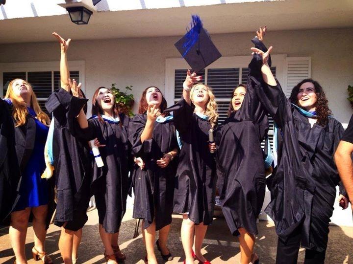SSU students graduation picture