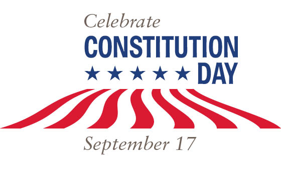 U.S. CONSTITUTION DAY – SEPTEMBER 17