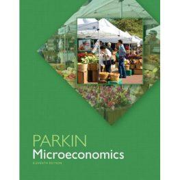 parkin microeconomics book image