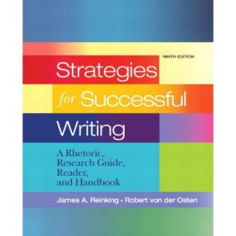 strategies for successful writing book image