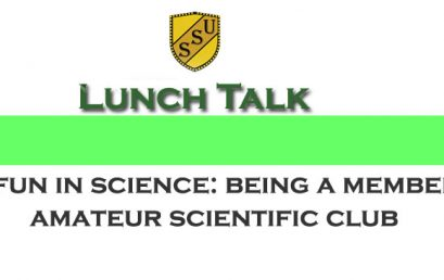 Upcoming  Lunch Talk!