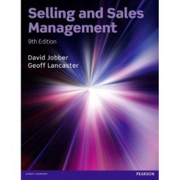 Selling and Sales Management Book Image