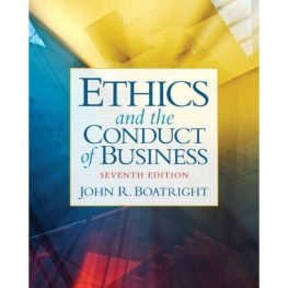 Ethics and Conduct of Business book image